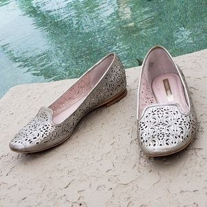 Audrey Brooke loafers leather 8.5
